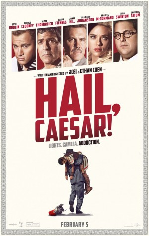 "Though funny, ""Hail, Caesar"" overstuffed, unfocused"